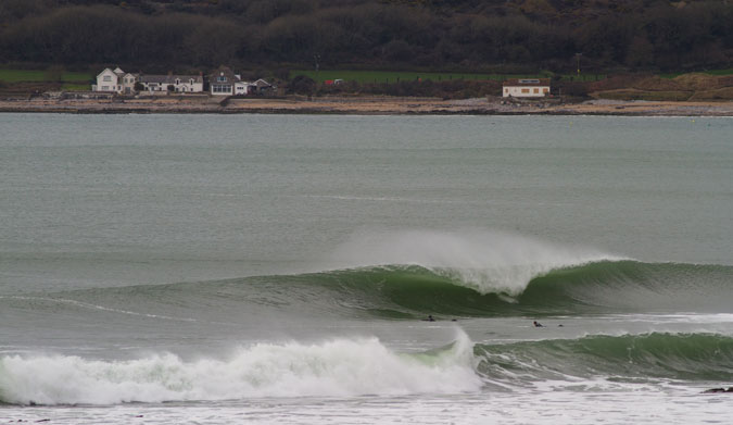 Wales certainly does get waves. Photo: Chris French