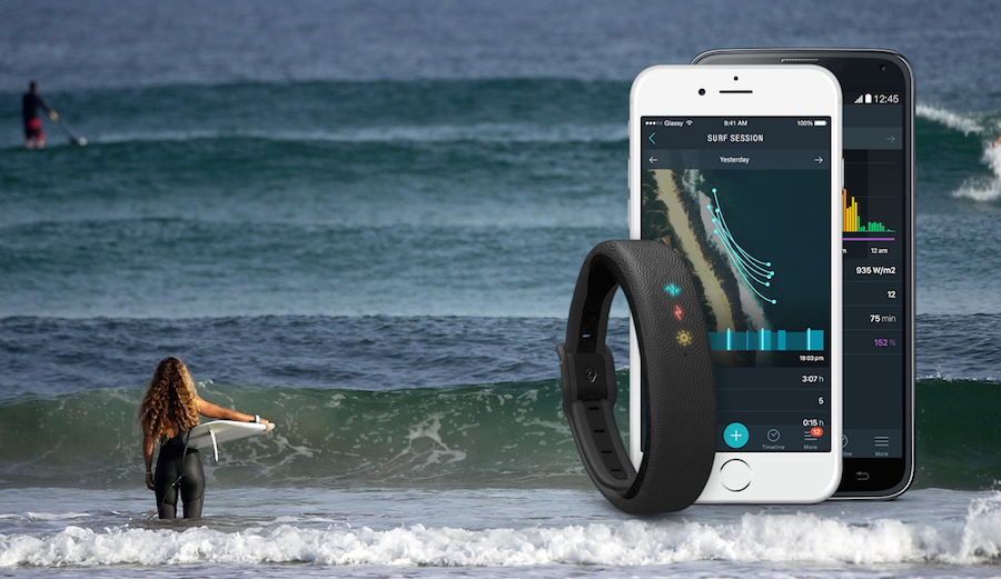The Glassy Zone is the world's first piece of wearable technology specifically designed for surfers.