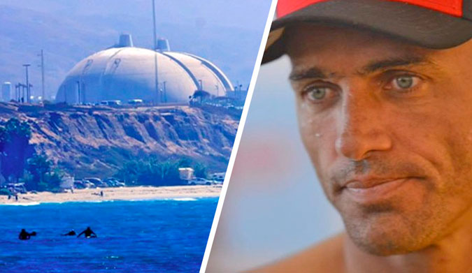 Kelly Slater San Onofre Nuclear Power Plant