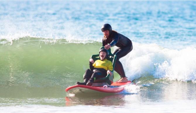 Cerebal Palsy Surf