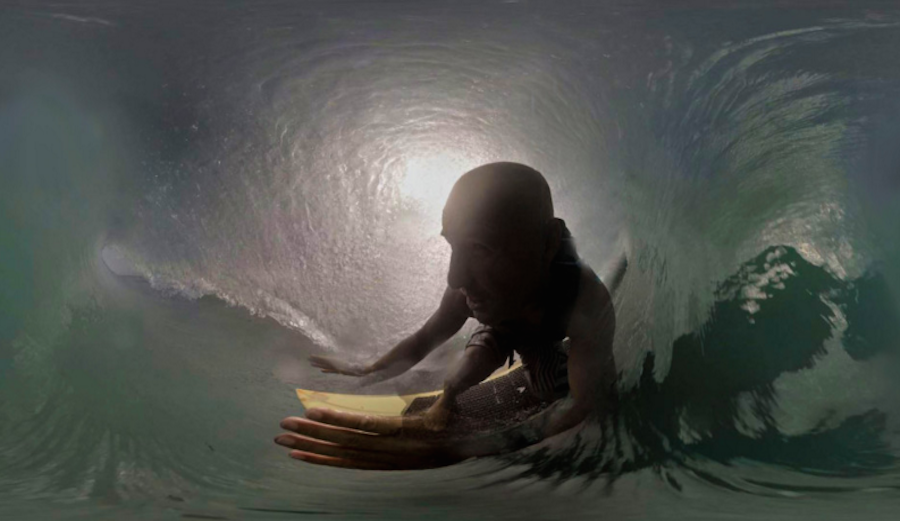 It might not replace the actual experience of paddling out for a session, but VR surfing is actually pretty awesome. Photo: Specular Theory