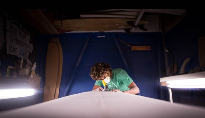 Surfboard Shaper Bryan Knowles Ride Anything