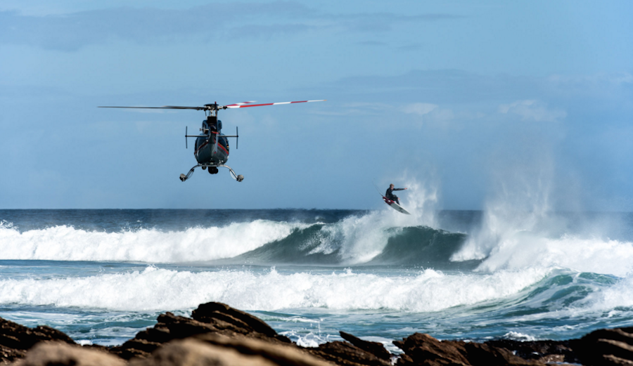 After three years of work, John John Florence and Blake Kueny are proud to present View from a Blue Moon. Shot in stunning 4k and often from helicopters for your viewing pleasure. Photo: @ViewFromABlueMoon
