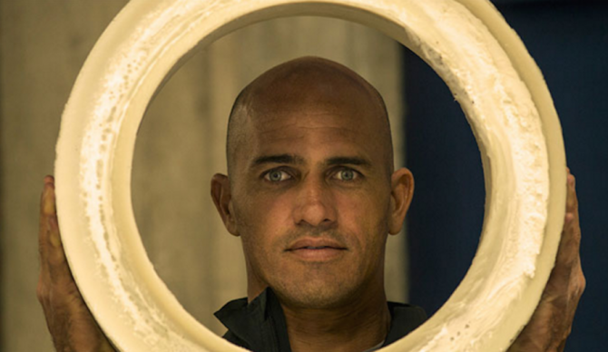 We support this man. Mr. Kelly Slater.