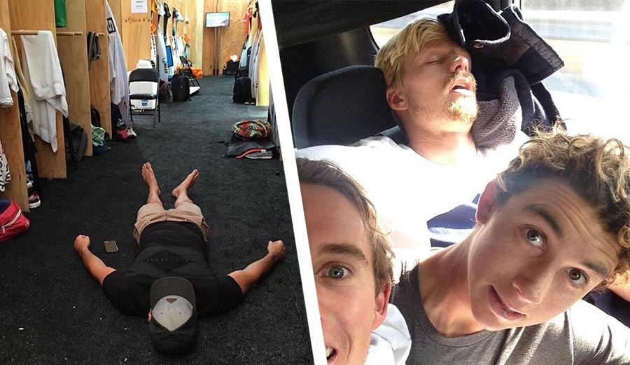A look at one of the funniest accounts on Instagram as we shout out the world's greatest surfers taking the world's greatest naps. @WorldSleepLeague