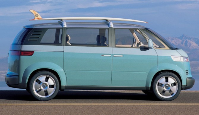 A concept of VW's reincarnation of the Microbus, with a potential to go into production in 2017