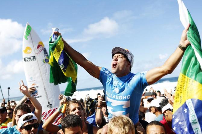 Adriano De Souza World Champion Pipeline
