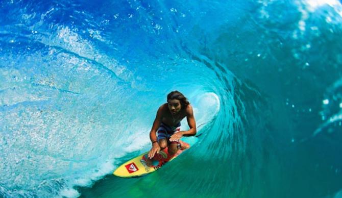 Craig Anderson (1988 – ) & Surfing