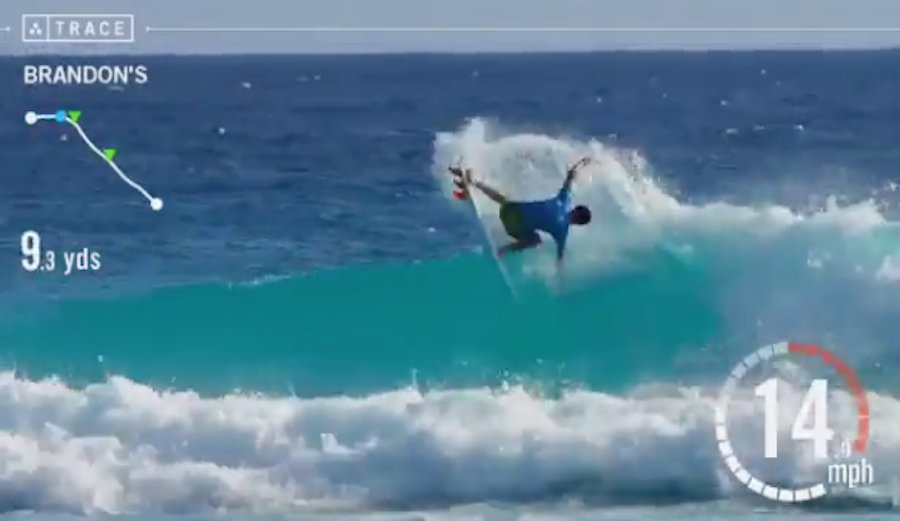 Dane Mackie of Barbados is holding down the top spot in the video contest. Photo: @danemackie