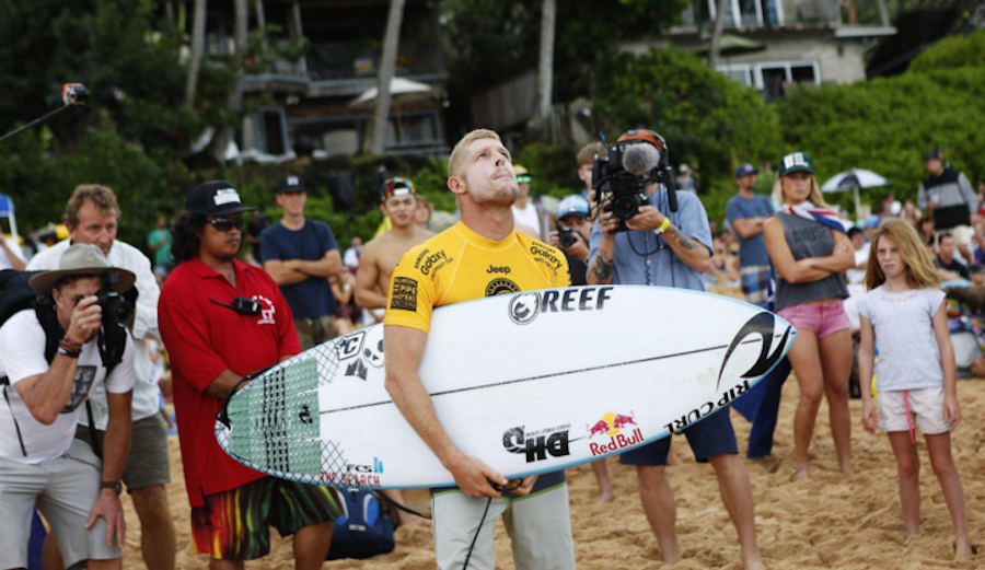 Mick Fanning finding his focus under trying circumstances. Photo: WSL / Kirstin Scholtz