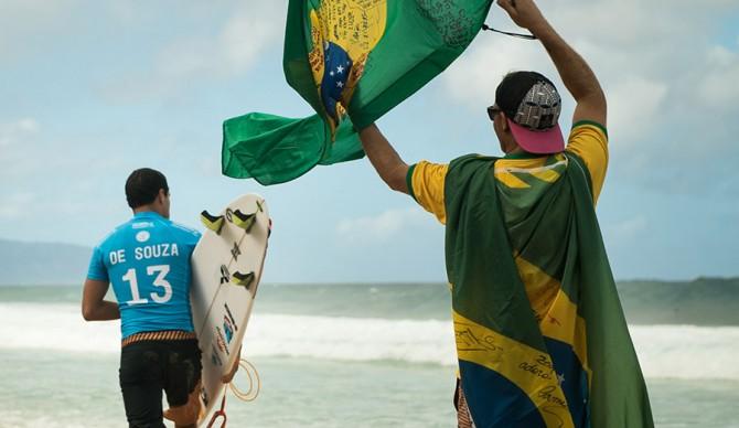 Adriano De Souza. 2015 World Champion. Photo: Jeremy Searle/Juicewhale