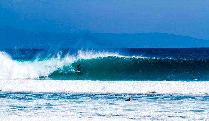 Desert Point, Lombok.