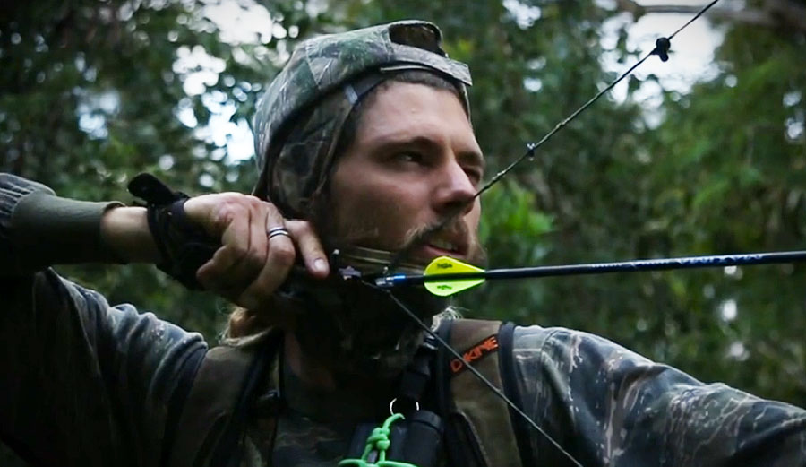 """""""I can't see a better way to harvest meat than hunting,"""" says Matt Meola. """"The animal lives a happy, healthy life in its natural habitat, then out of nowhere, it drops dead. Seems a lot less cruel to me."""""""