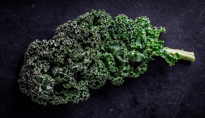 More than a trend. Kale's good for your eyes! Photo: Shutterstock.
