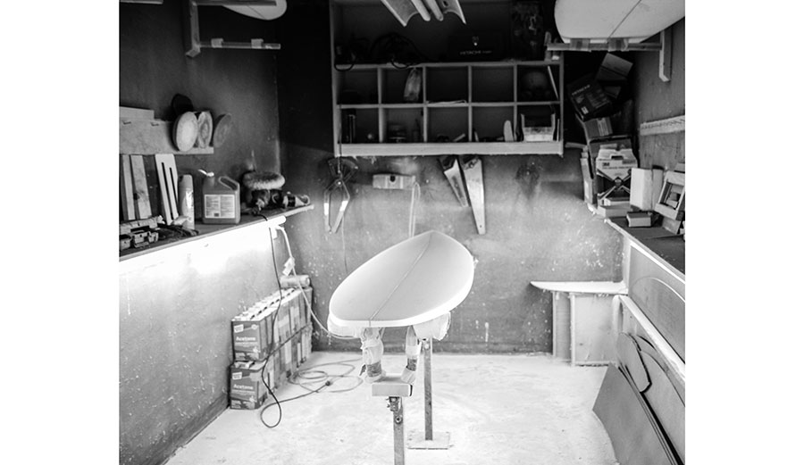 Shaping room.