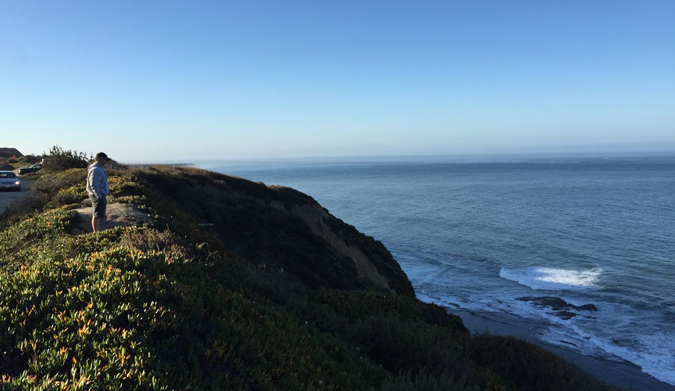 Gotta love a morning surf check. Photo: Bob Cooney