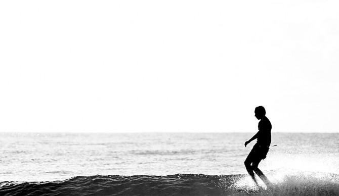 The longboard. A necessary addition to every surfer's quiver. Photo: Chris Grundy