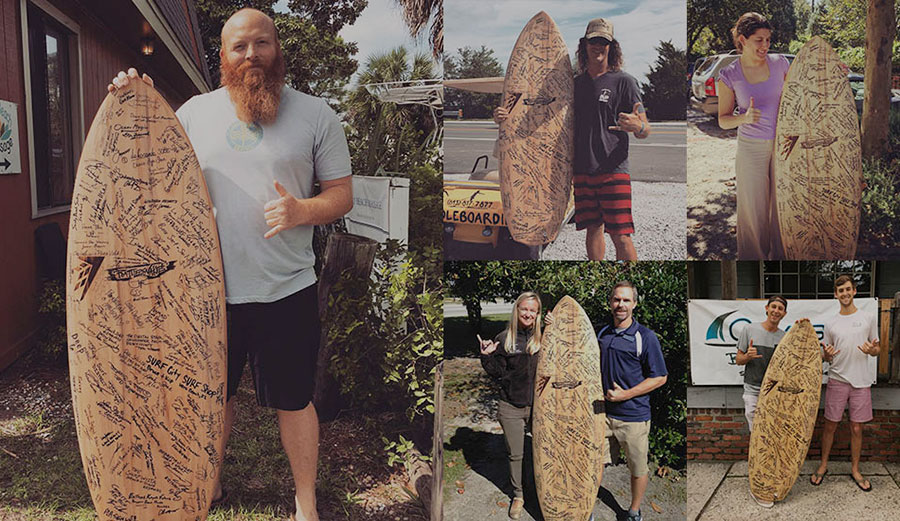 Surfrider chapters and recreation industry leaders prepare to visit the White House and Capitol Hill to lobby against offshore drilling in the Atlantic Ocean.