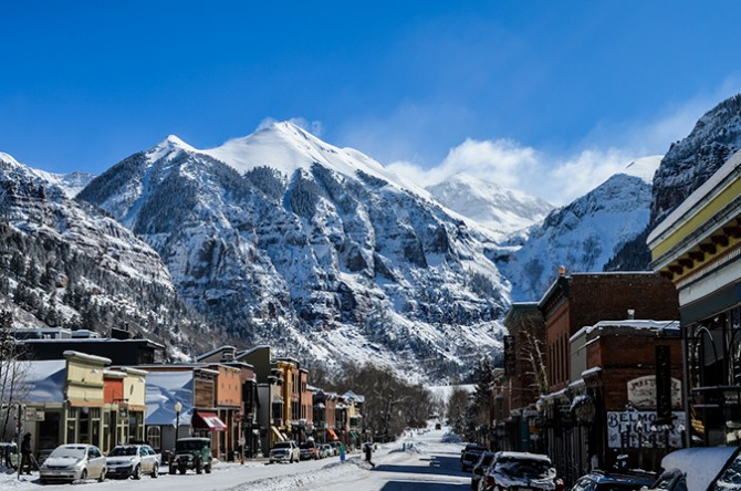 Telluride, Colorado. Photo: John Robison IV