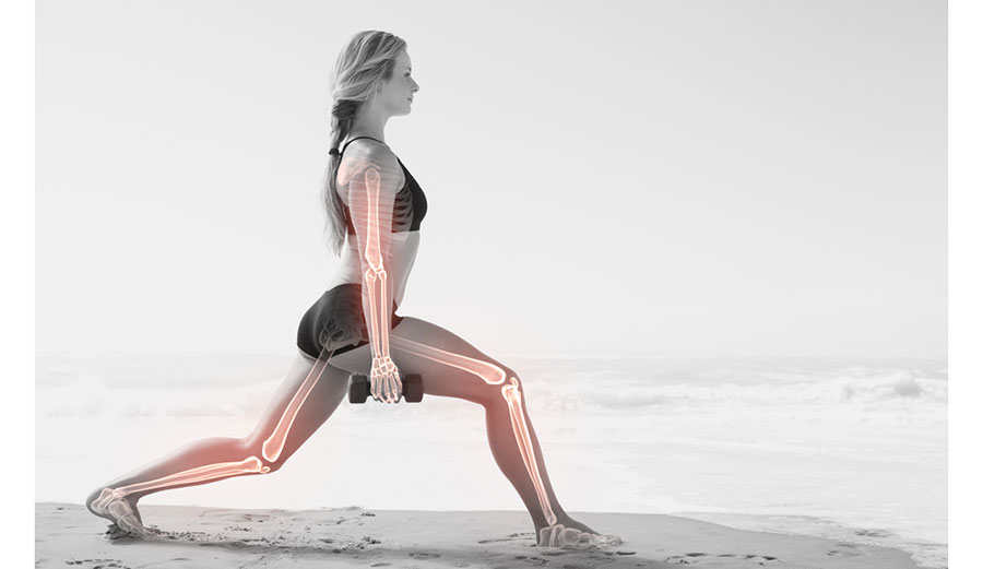 You don't have to add weights to beach conditioning, but you can.