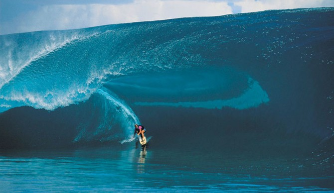 Laird Hamilton redefining what was humanly possible. Photo: Tim McKenna