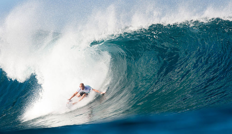 Mick Fanning knows how important it is for his body to be strong and flexible.