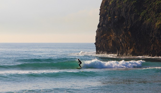 A more peaceful side of North Korea. Photo: SurfNorthKorea.com