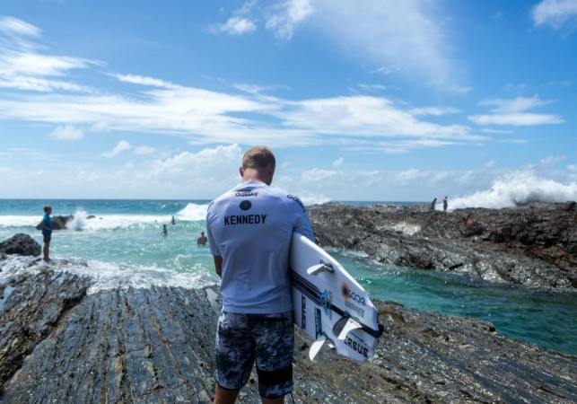 Stu Kennedy and the Sci-Fi might be the Ando and Hypo Krypto of 2016. Photo: WSL