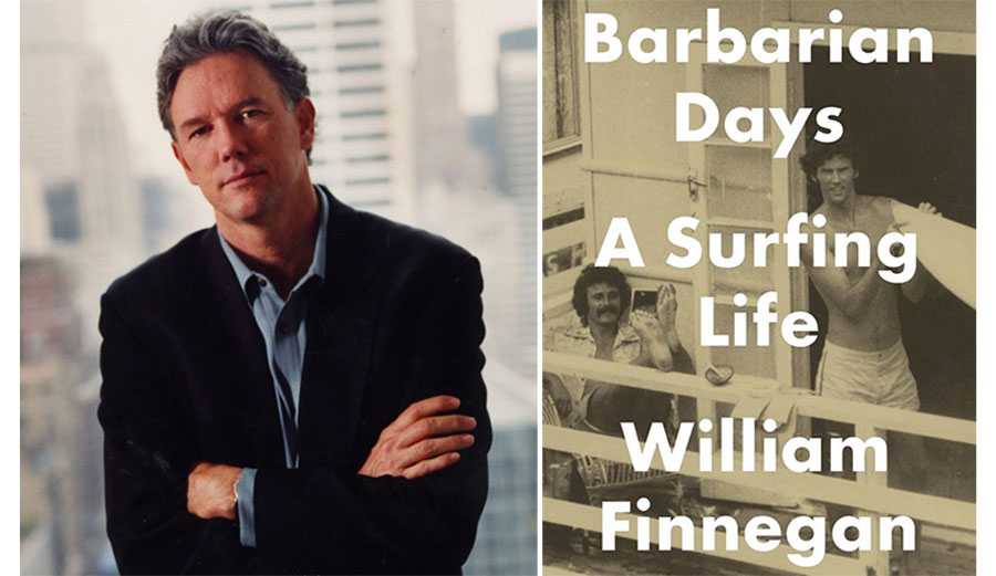 William Finnegan just won a Pulitzer Prize for Barbarian Days