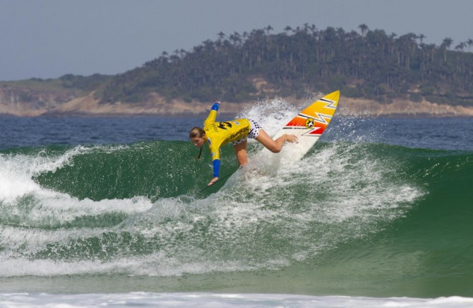 Jacqueline Silva first qualified for the CT in 1999. She subsequently ranked in the Top 17 from 2001 to 2009, and then again from 2011 through 2012. Photo: WSL
