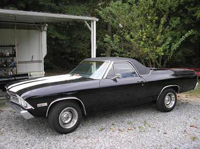 Chevrolet El Camino 1968: Prix: 10500 $