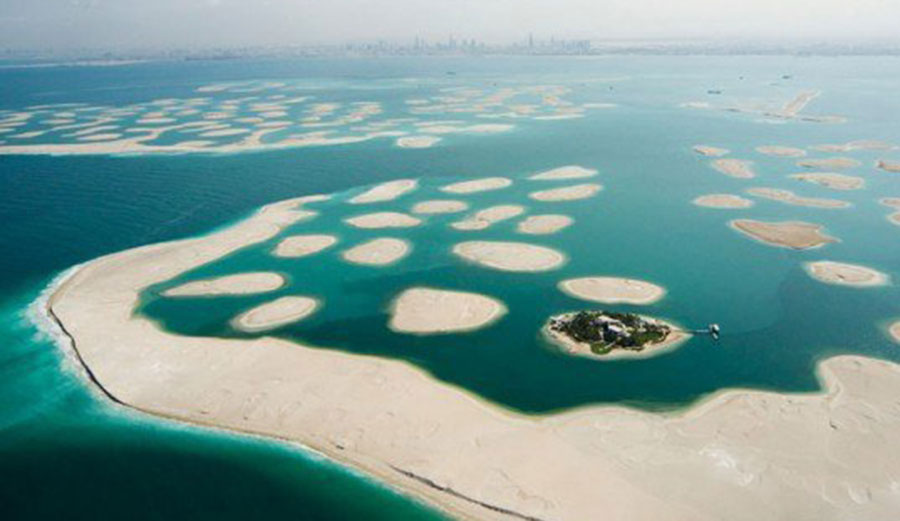 The World Is Reportedly Sinking. Photo: Inhabitat
