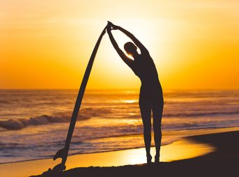 Yoga. Surfing. They're not always the answer. Photo: Shutterstock.