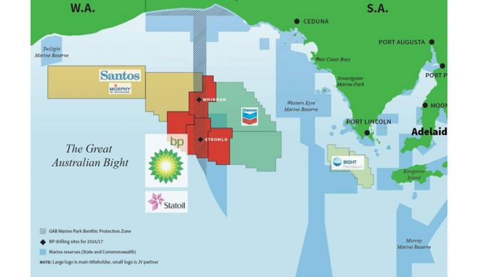 Australia Map Great Australian Bight.Wilderness Society Says Proposed Bp Drilling Sites In Great