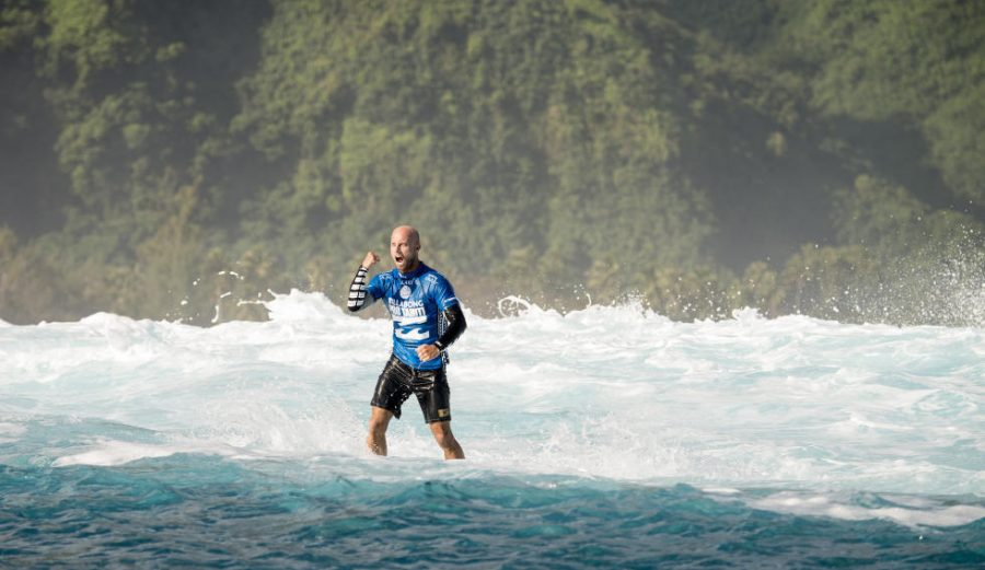 Nathan Hedge is all about rolfing. But what is it? Photo: WSL