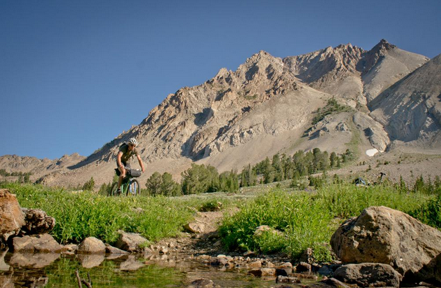 The Whitecloud Wilderness, where cycling is no longer allowed. Photo: Boise State Public Radio