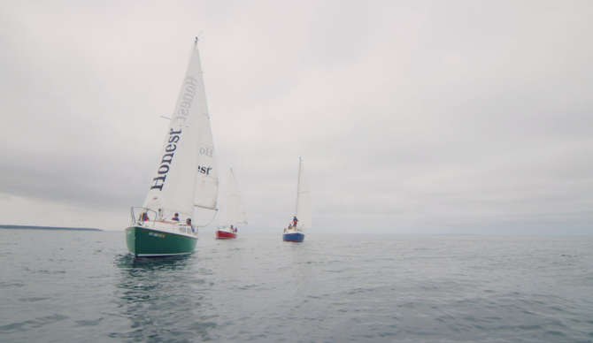 Montauk has some incredible waterways for sailing. Until it doesn't due to elevated bacteria levels. Photo: Surfrider