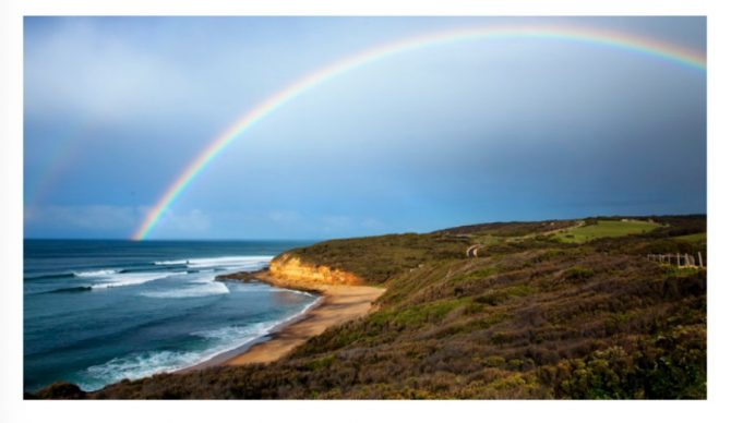 Bells Beach, shown here, is in developers' crosshairs. Photo: Change.org