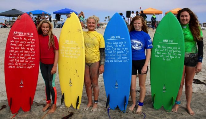 Girls Finalists with the Jesus Fishes. Photo: Chris Kelly