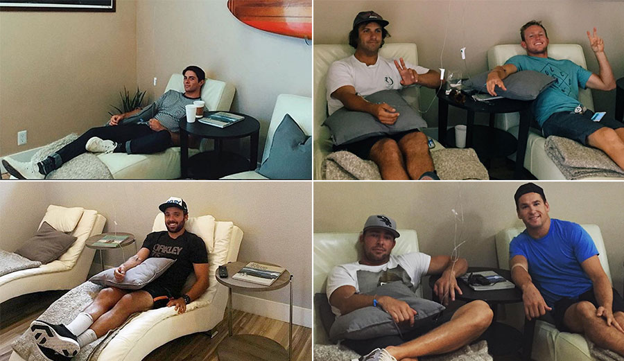 Caio Ibelli, Cam Richards, Dusty Payne, Joffrey Lupul and Scotty Upshall are just a few of the professional athletes that are using IV Therapy.