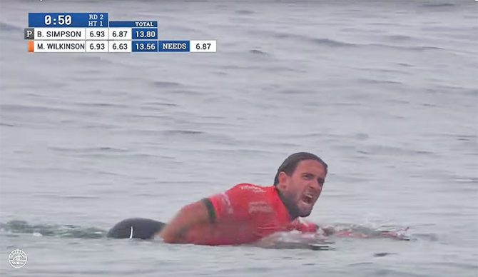 "In most other sports, screaming ""F*CK YOU"" at a judge or a referee wouldn't just be swept under the rug. Should surfing be any different?"