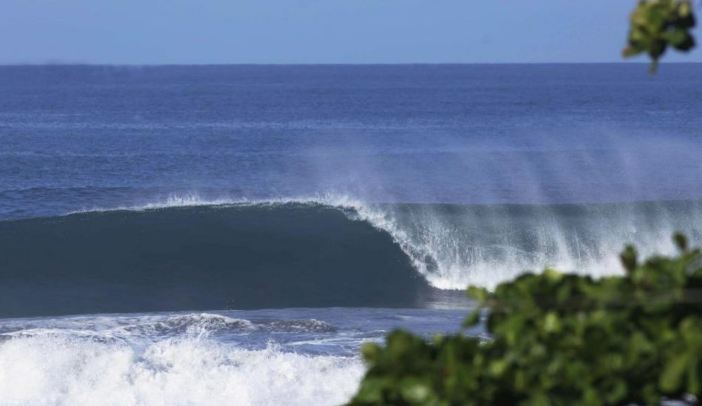 It's not just perfect waves out there at Esterillos. Photo: WSL / Johan Pacheco