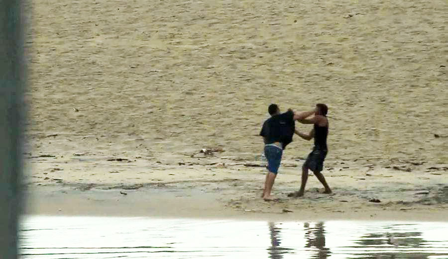 Gold Coast Beat Down Turns into a Sad Three Round Brawl. Photo: Youtube
