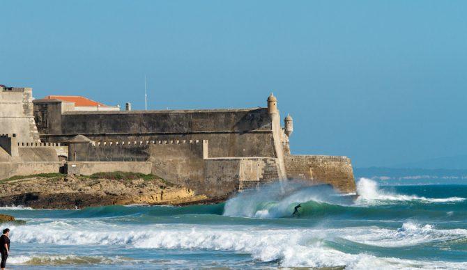 Castles and barrels, must be Portugal. Sam Einstein. Photo: Luke Dawson