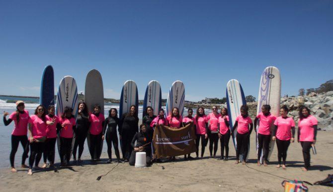 Brown Girl Surf is a badass organization. Photo: Courtesy Brown Girl Surf