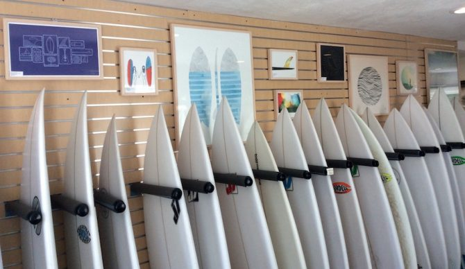 A quiver like this used to be reserved for pros, but for $90/month it may suddenly be within reach. Photo: Newport Board Club