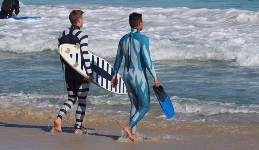 According to the study, these suits took about 5 minutes to get attacked, while a regular one took about 90 seconds.