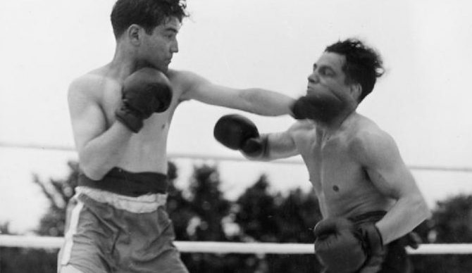 Boxing classes... In case you need to throw down. Photo: Wikimedia Commons