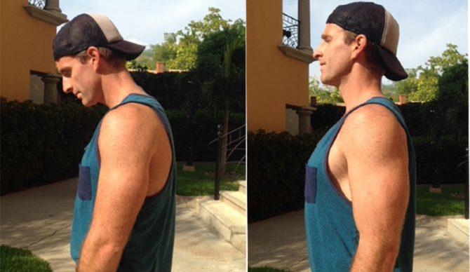 Image result for chest up shoulders back
