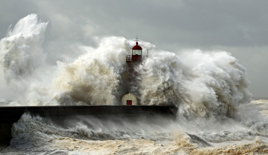 It's hard to say how much climate change is responsible for any individual storm. Photo: Zacarias Pereira da Mata / Shutterstock